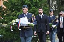 VMukověa v Teplicích uctili památku amerických letců.