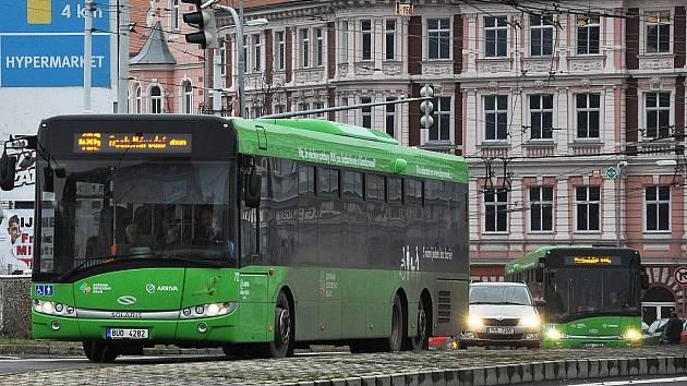 Dopravní obslužnost na Teplicku, ilustrační foto.