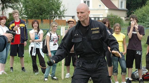 Městská policie uspořádala závod pro školáky