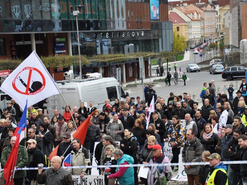 Demonstrace proti islamizaci