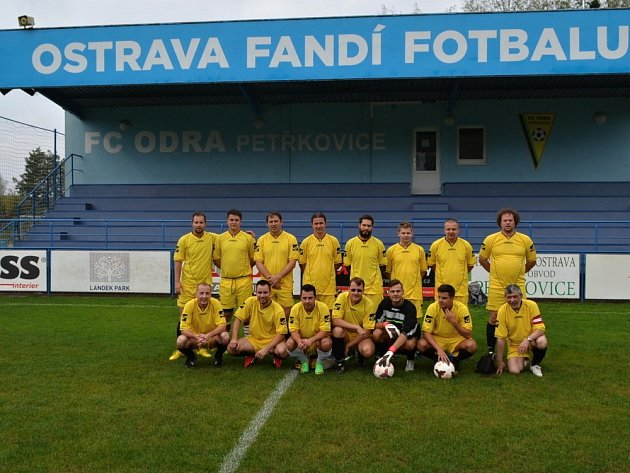 Advokáti ze severu Čech hráli fotbal vOstravě