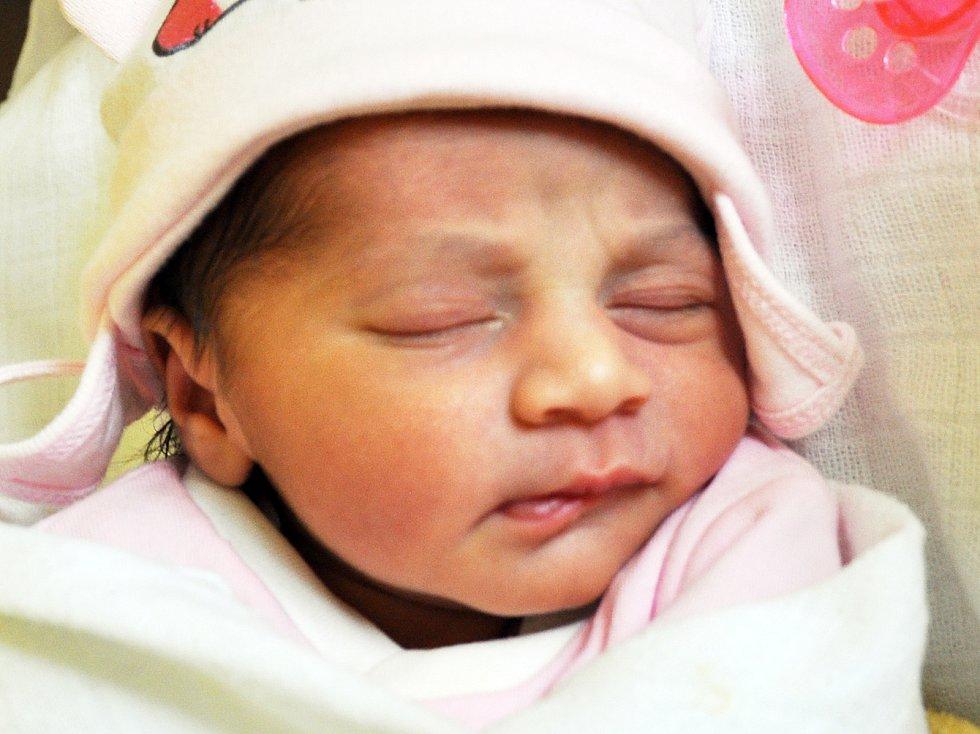 Darina Berkyová se narodila Darině Berkyové z Duchcova 10. dubna v teplické porodnici v 4,12 hodin. Měřila 48 cm, vážila 2,35 kg