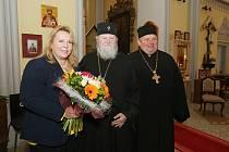 Ministryně pro místní rozvoj Klára Dostálová ve čtvrtek 28. března navštívila Teplice.
