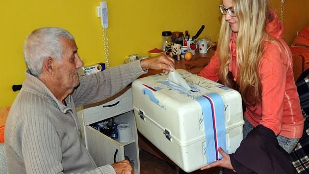 Volby v Domově důchodců v Bystřanech.
