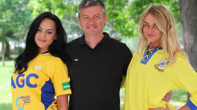 Tisková konference FK Teplice a Dynama Drážďany