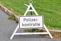 Německé kontroly na hranicích/ilustrační foto