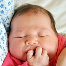 MICHAELA CHUDOBOVÁ se narodila Martině Dáňové z Krupky 11. prosince ve 4.01 hod. v teplické porodnici.  Měřila 50 cm a vážila 3,70 kg.