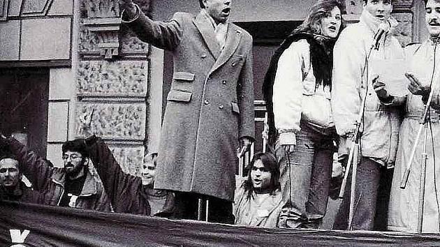 Listopad 1989 v Teplicích