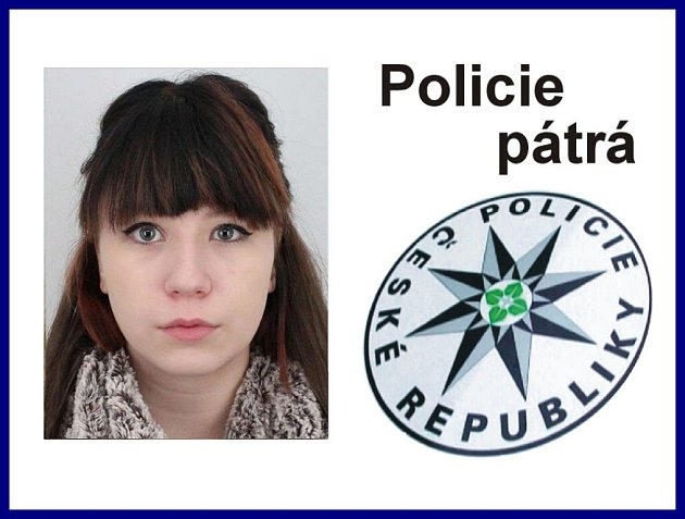 Policie pátrá po pohřešované Kristýně Stehlíkové.