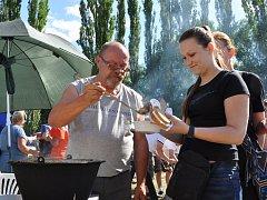 Jubilejní desátá Guláš party v Modlanech. Rybáři Modlany