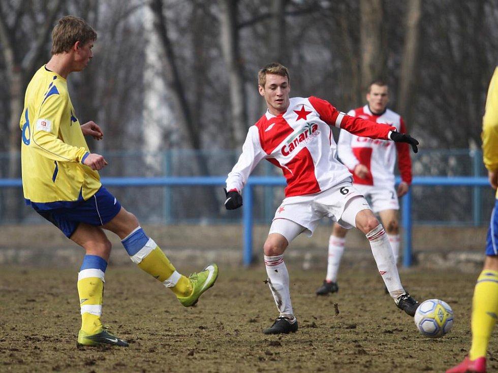 1. liga staršího dorostu: FK Teplice - Slavia Praha 0:4