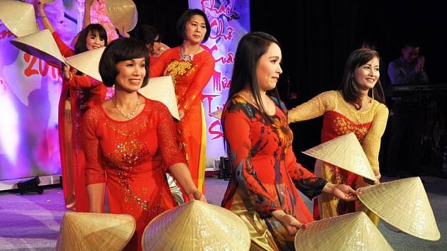 Vietnamci oslavili příchod ohnivé opice i nového roku