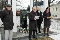 Uctili památku obětem holocaustu