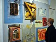 Výstava Oči dokořán v teplickém muzeu.