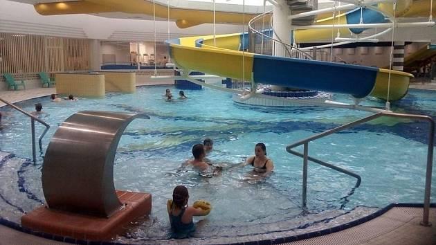 Aquacentrum Teplice. Ilustrační foto.