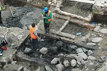 Čtvrt roku trvající archeologický výzkum v prostoru mezi náměstím Svobody v Teplicích a ulicemi Krupskou a Divadelní skončil.