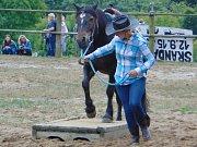 Rodeo v Přítkově se vydařilo.