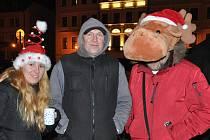 Vánoční trhy v Teplicích.