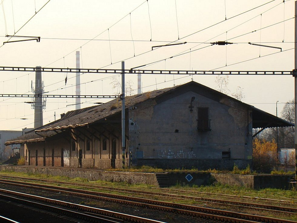 Vlakové nádraží Teplice v Čechách.