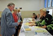 1. den komunálních a senátních voleb 2018 na Teplicku