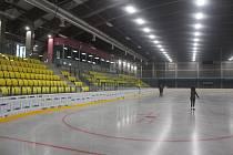 Nový teplický zimní stadion.