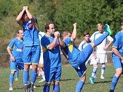 V okresním přeboru porazily Sobědruhy Lahošť těsně 1:0.