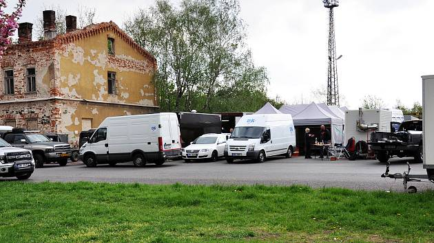 Německý televizní seriál Naše báječná léta se natáčí v Duchcově.
