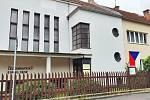 Kostel v ulici J. V. Sládka v Teplicích.