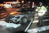 Nehoda v Srbicích