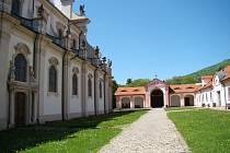 Areál v oseckém klášteře. Ilustrační foto.