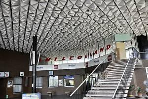 Nejen jedinečný strop nádraží v Duchcově byl důvodem pro jeho zařazení mezi kulturní památky Ústeckého kraje.