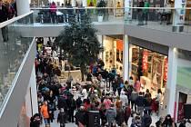 Obchodní centrum Galerie v Teplicích, ilustrační foto.