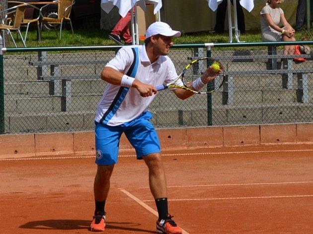 Uladzimir Ignatik hají momentálně barvy drážďanského tenisového klubu. Nejvýše byl v žebříku ATP na 137 místě.