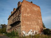 Teplické ruiny - dům v Zemské ulici.