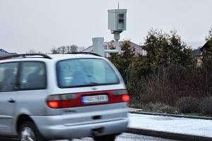 Nové radary instalované při vjezdech do města Duchcov