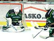 HC Energie (v zeleném) hostila Litvínovzávorka