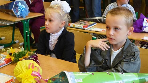 První školní den na Teplicku