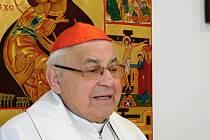 Kardinál Vlk.