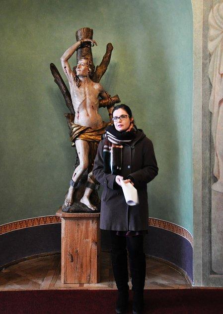 Lucie Šťastná je kastelánkou Státního zámku Duchcov
