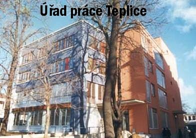 Nová budova teplického úřadu práce.