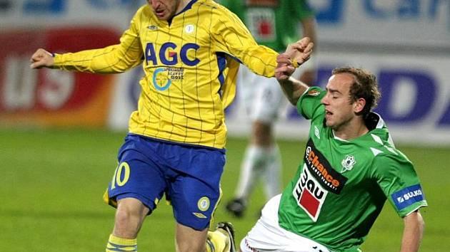 Vlastimil Stožický (vlevo) mění teplický dres opět za ten ústecký.