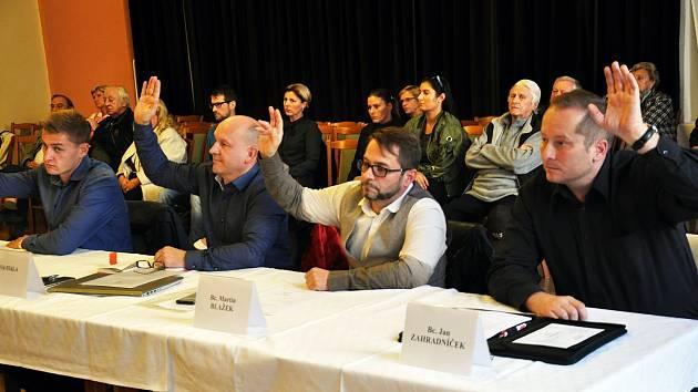 Jednání zastupitelů v Duchcově, ilustrační foto.