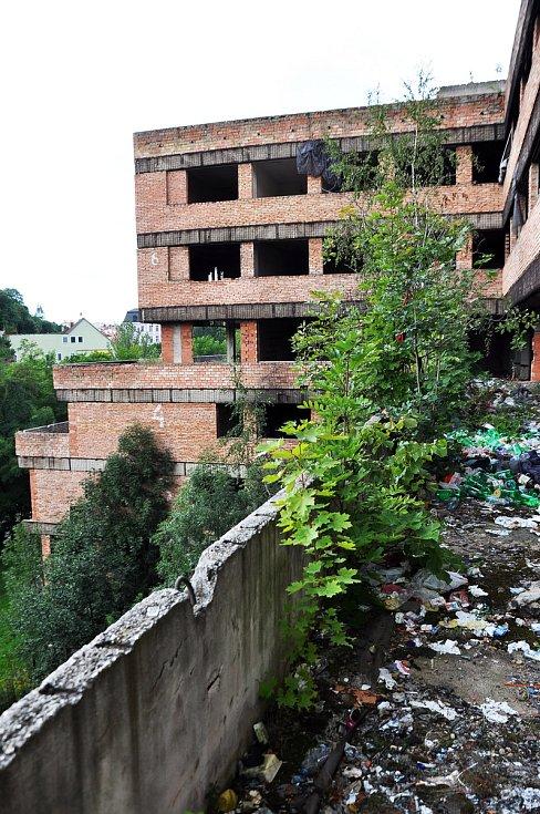 Teplické ruiny - Mlýnská ulice.