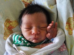 Damián Chochola se narodil Barbaře Chocholové z Duchcova 22. dubna v 10,30 hodin. Měřil 47 cm, vážila 2,8 kg.
