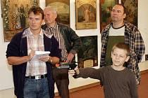Střelecké spolky na Teplicku a jejich malované terče můžete obdivovat do 13. listopadu na výstavě v jízdárně teplického zámku