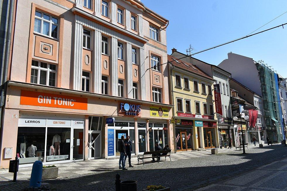 Krupská ulice v Teplicích