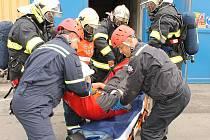 Elektrárně Ledvice prověřovali havarijní připravenost zaměstnanců