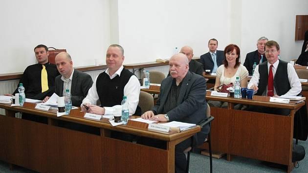Zasedání zastupitelů v Teplicích