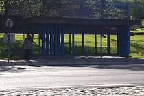 Zastávka v Bílině, ilustrační foto.