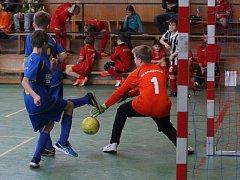 Halový turnaj mladších žáků v Krupce